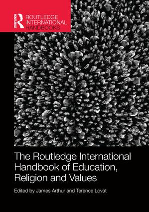 The Routledge International Handbook of Education, Religion and Values book cover