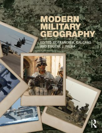 Modern Military Geography: 1st Edition (Paperback) book cover