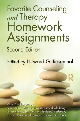 Favorite Counseling and Therapy Homework Assignments: 2nd Edition (Paperback) book cover