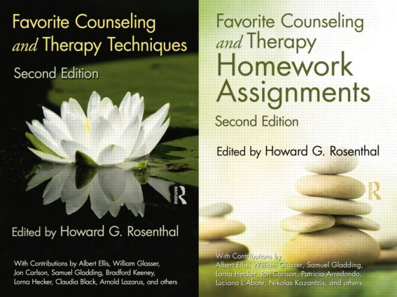 Favorite Counseling and Therapy Techniques & Homework Assignments Package (Pack) book cover