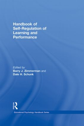 Handbook of Self-Regulation of Learning and Performance (Hardback) book cover
