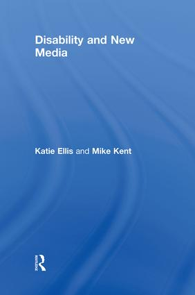 Disability and New Media (Hardback) book cover