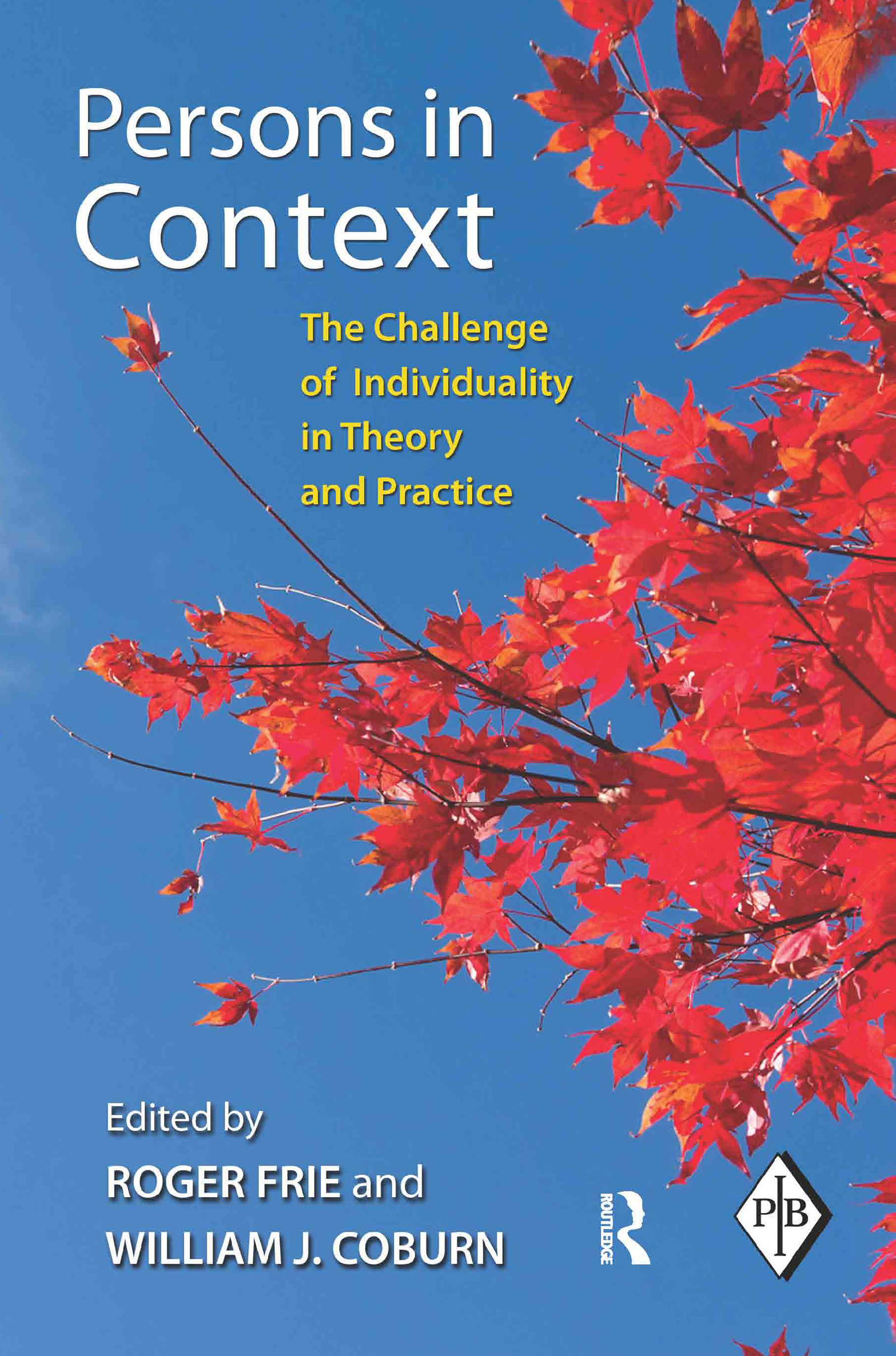 Persons in Context: The Challenge of Individuality in Theory and Practice, 1st Edition (Paperback) book cover
