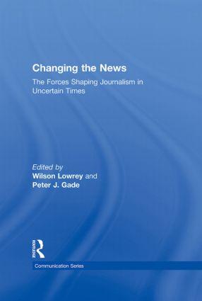 Postmodernism, Uncertainty, and Journalism Peter J. Gade, University of Oklahoma