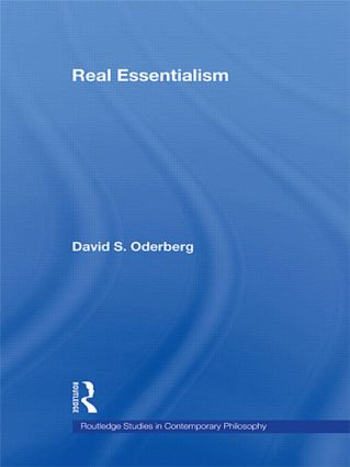 Real Essentialism: 1st Edition (Paperback) book cover