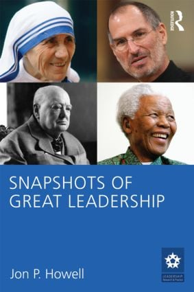 Snapshots of Great Leadership (Paperback) book cover