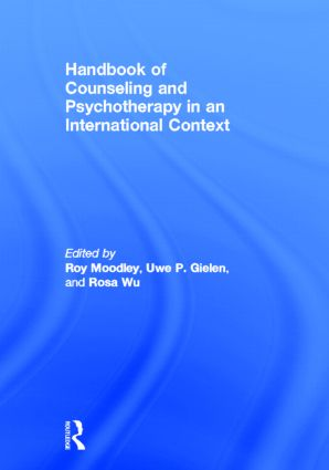 Handbook of Counseling and Psychotherapy in an International Context (Hardback) book cover
