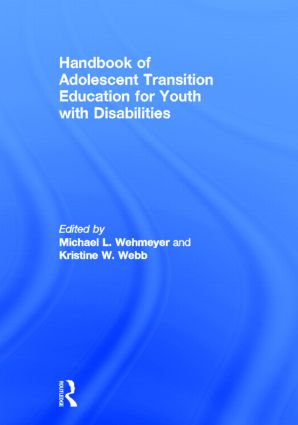 Handbook of Adolescent Transition Education for Youth with Disabilities (Hardback) book cover