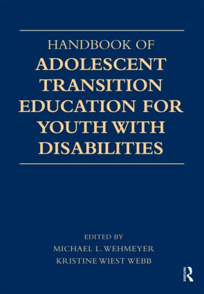 Handbook of Adolescent Transition Education for Youth with Disabilities (Paperback) book cover