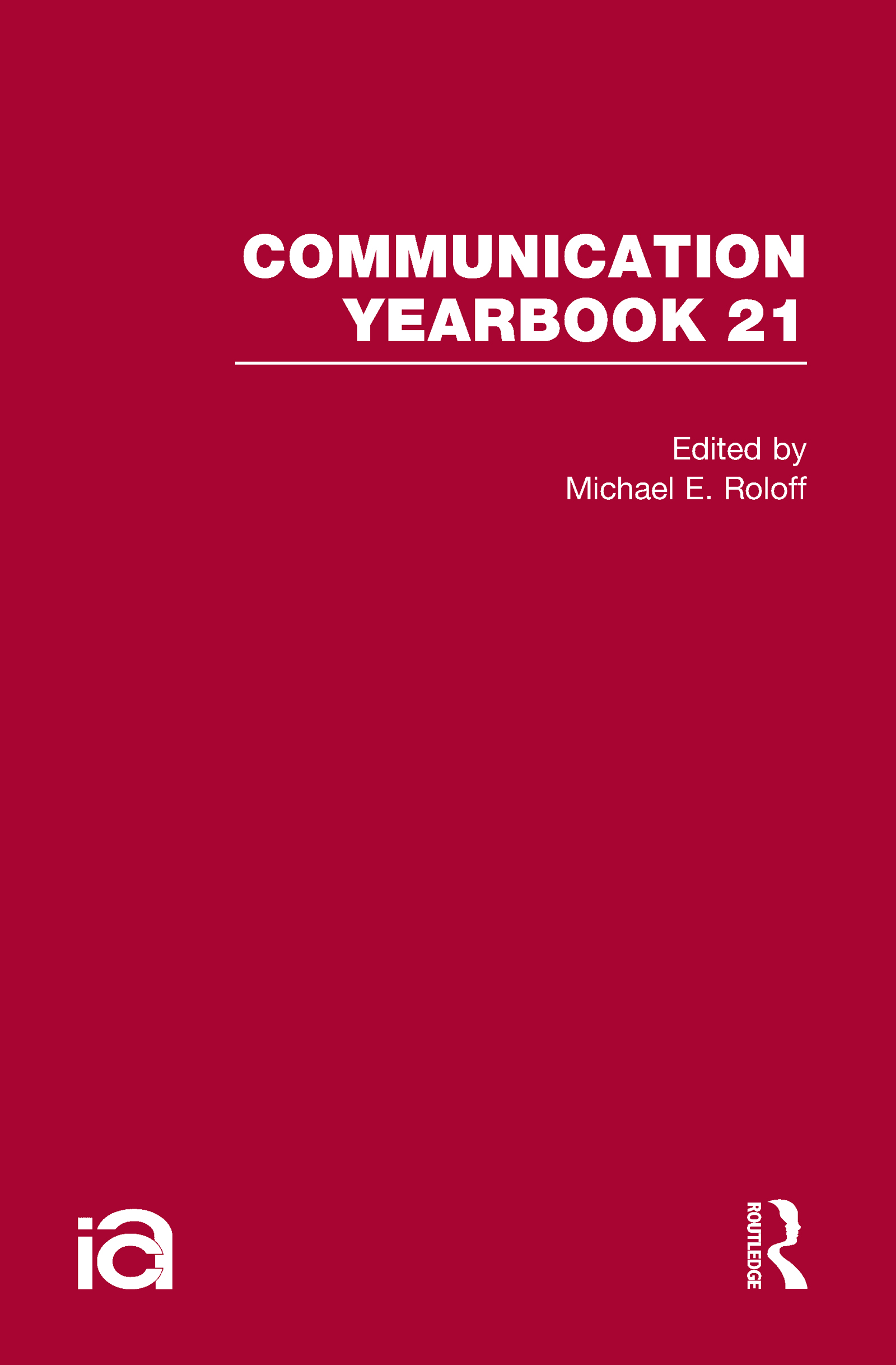 Communication Yearbook 21 (Hardback) book cover