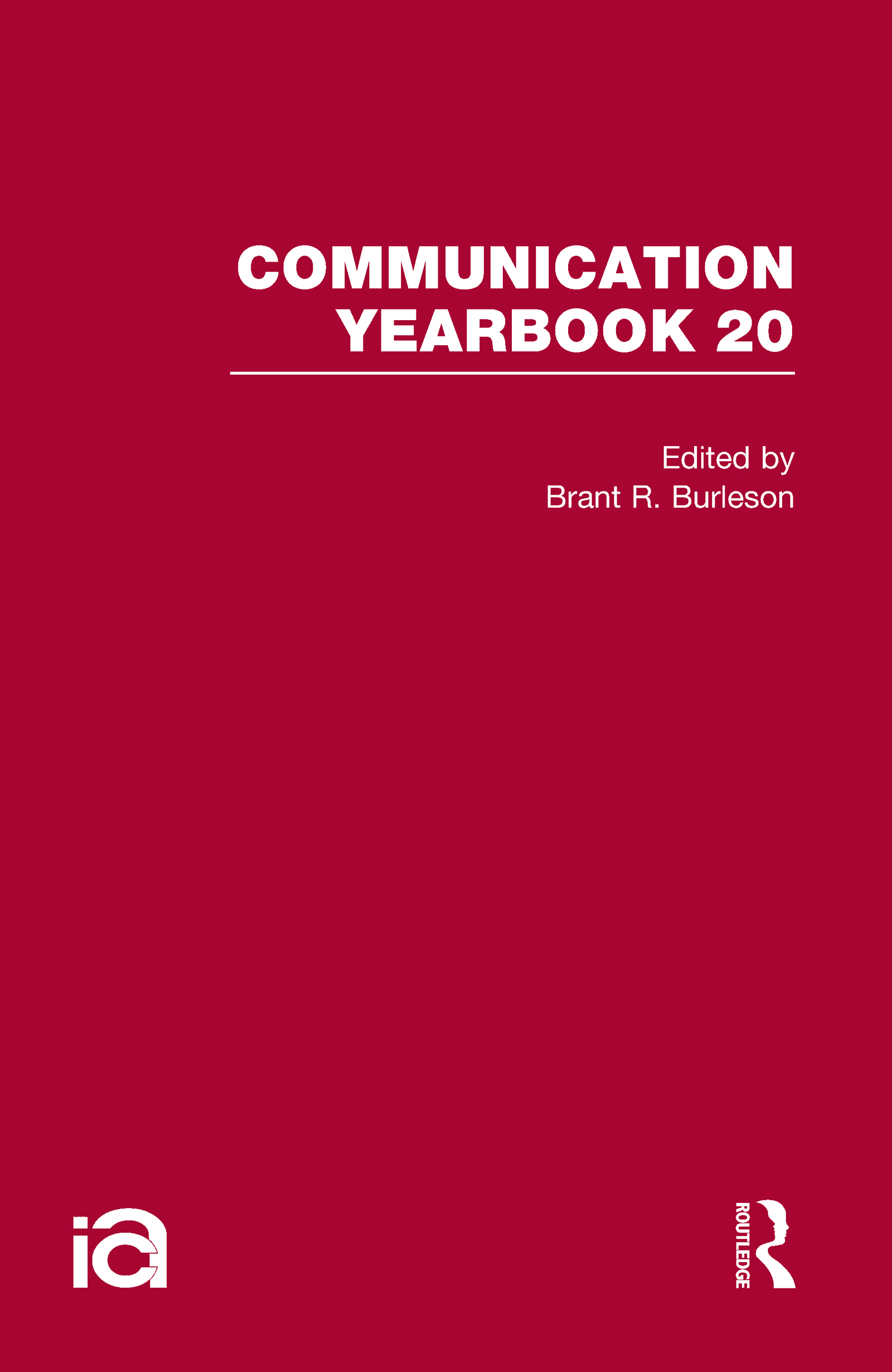 Communication Yearbook 20 (Hardback) book cover