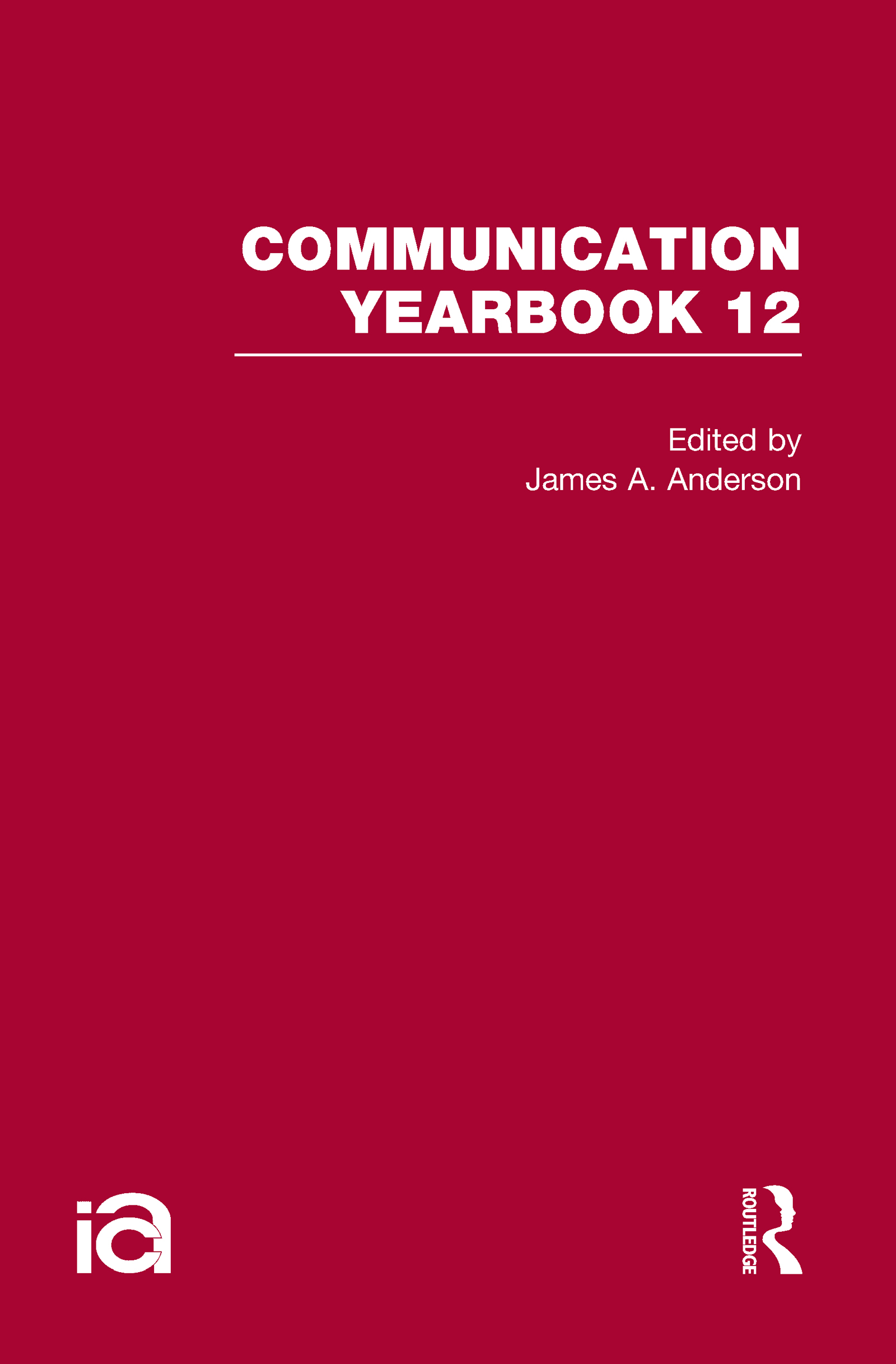 Communication Yearbook 12 (Hardback) book cover
