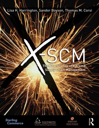 X-SCM: The New Science of X-treme Supply Chain Management (Paperback) book cover