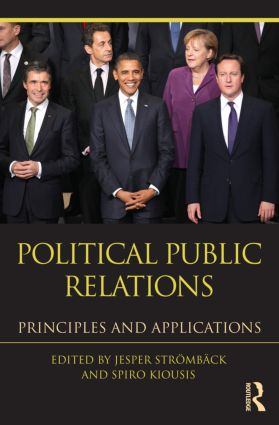 Political Public Relations: Principles and Applications (Paperback) book cover
