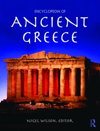 Encyclopedia of Ancient Greece (Paperback) book cover