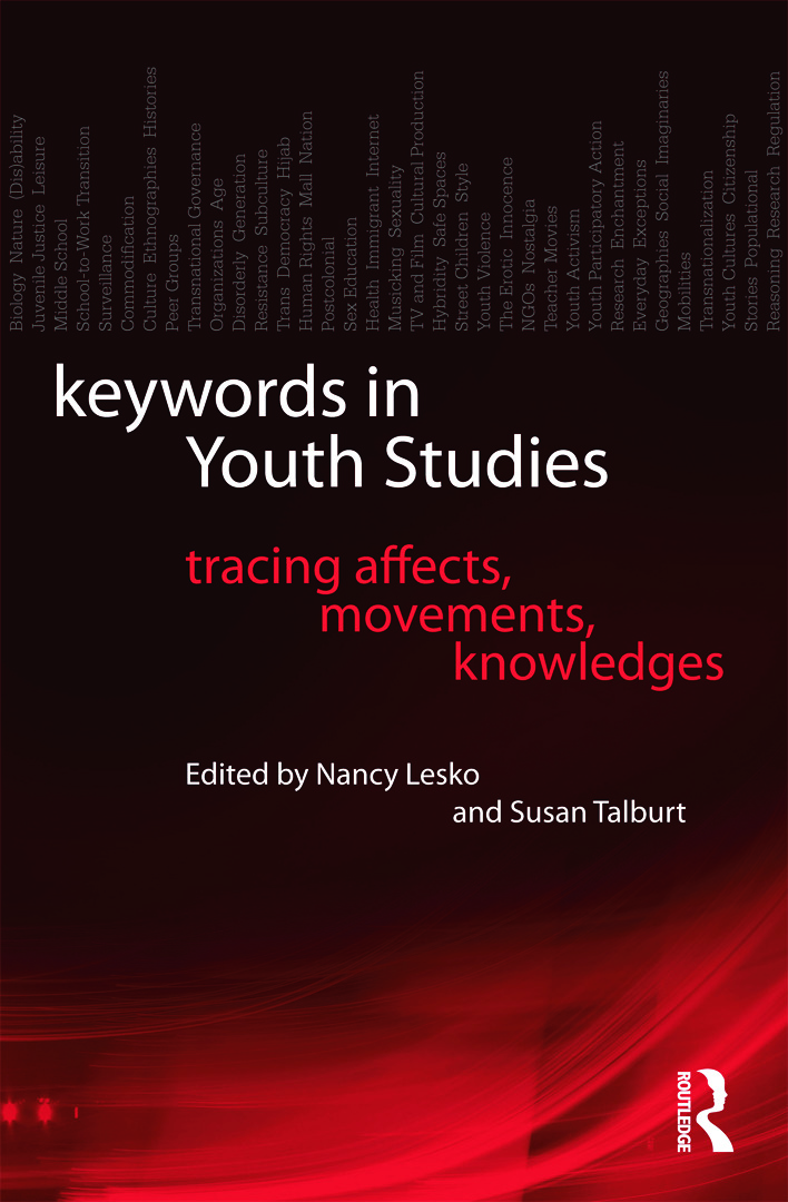 Keywords in Youth Studies: Tracing Affects, Movements, Knowledges (Paperback) book cover