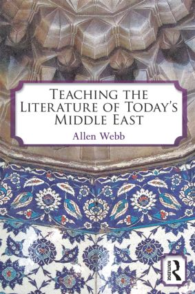 Teaching the Literature of Today's Middle East (Paperback) book cover