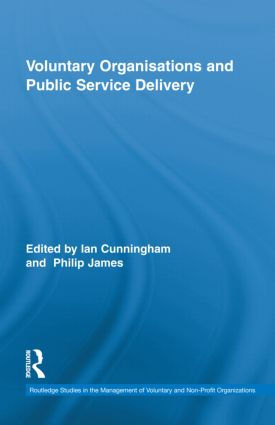 Voluntary Organizations and Public Service Delivery: 1st Edition (Hardback) book cover