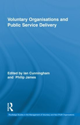 Voluntary Organizations and Public Service Delivery book cover