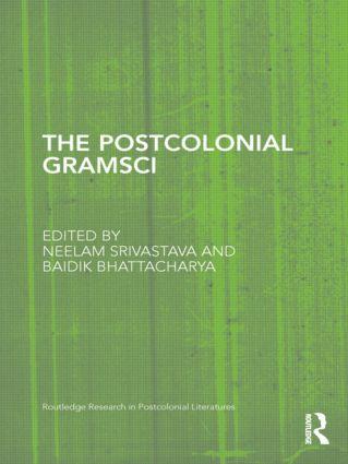 The Postcolonial Gramsci (Hardback) book cover