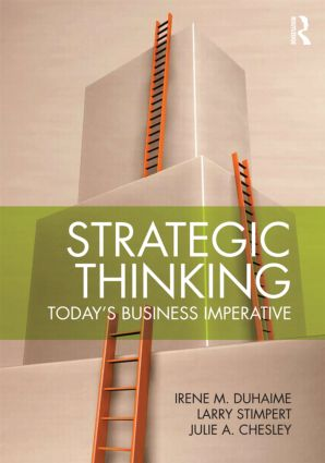 Strategic Thinking: Today's Business Imperative, 1st Edition (Paperback) book cover