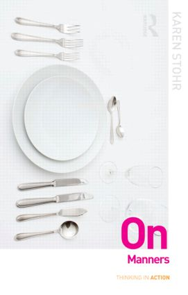 On Manners (Paperback) book cover