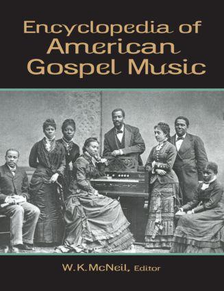 Encyclopedia of American Gospel Music (Paperback) book cover
