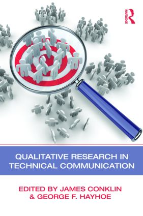 Qualitative Research in Technical Communication (Paperback) book cover