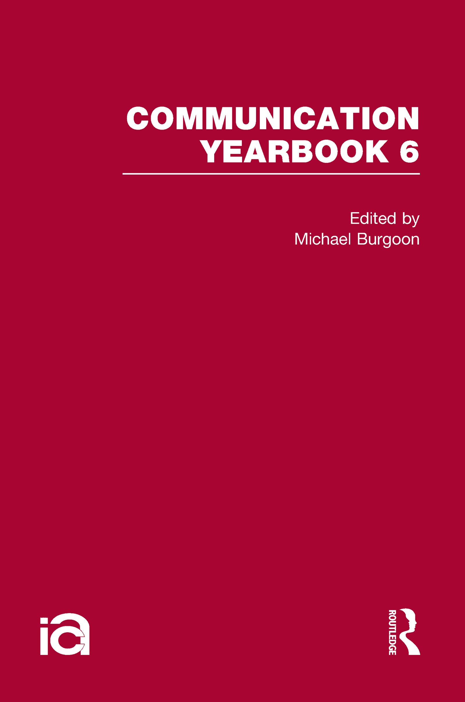 Communication Yearbook 6 (Hardback) book cover