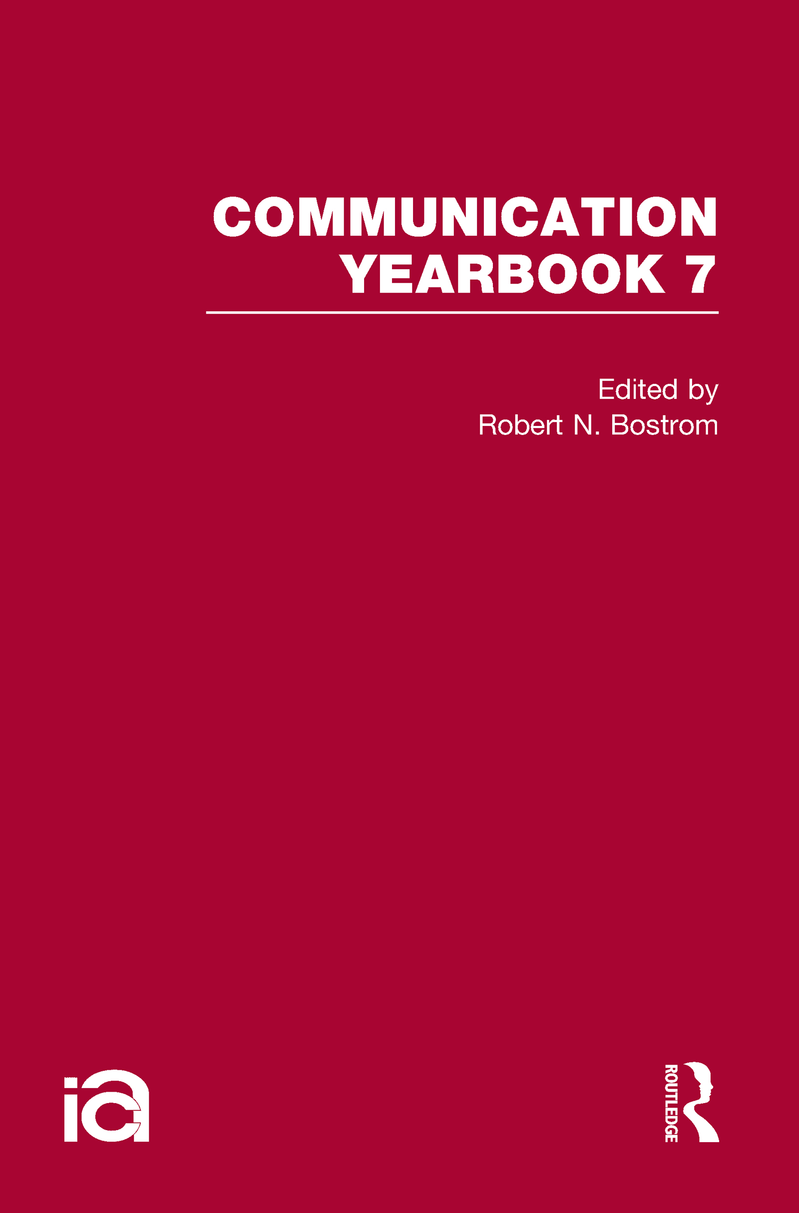 Communication Yearbook 7 (Hardback) book cover
