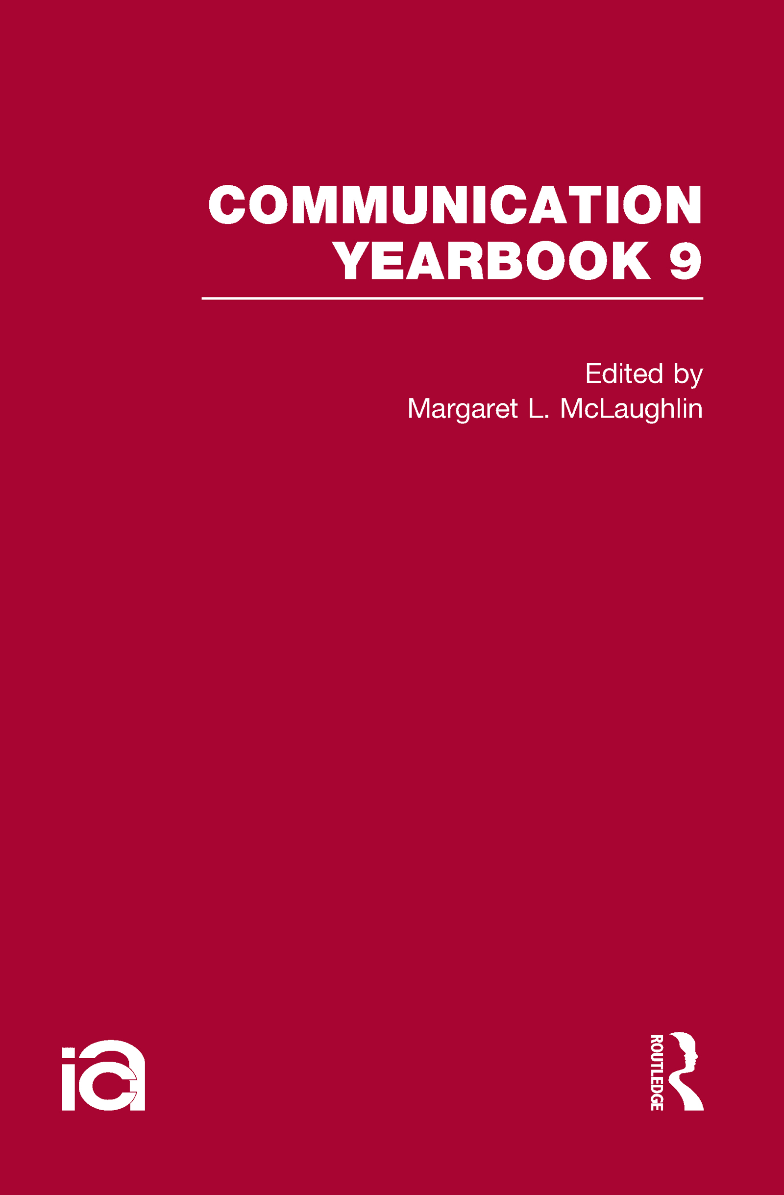 Communication Yearbook 9: 1st Edition (Hardback) book cover