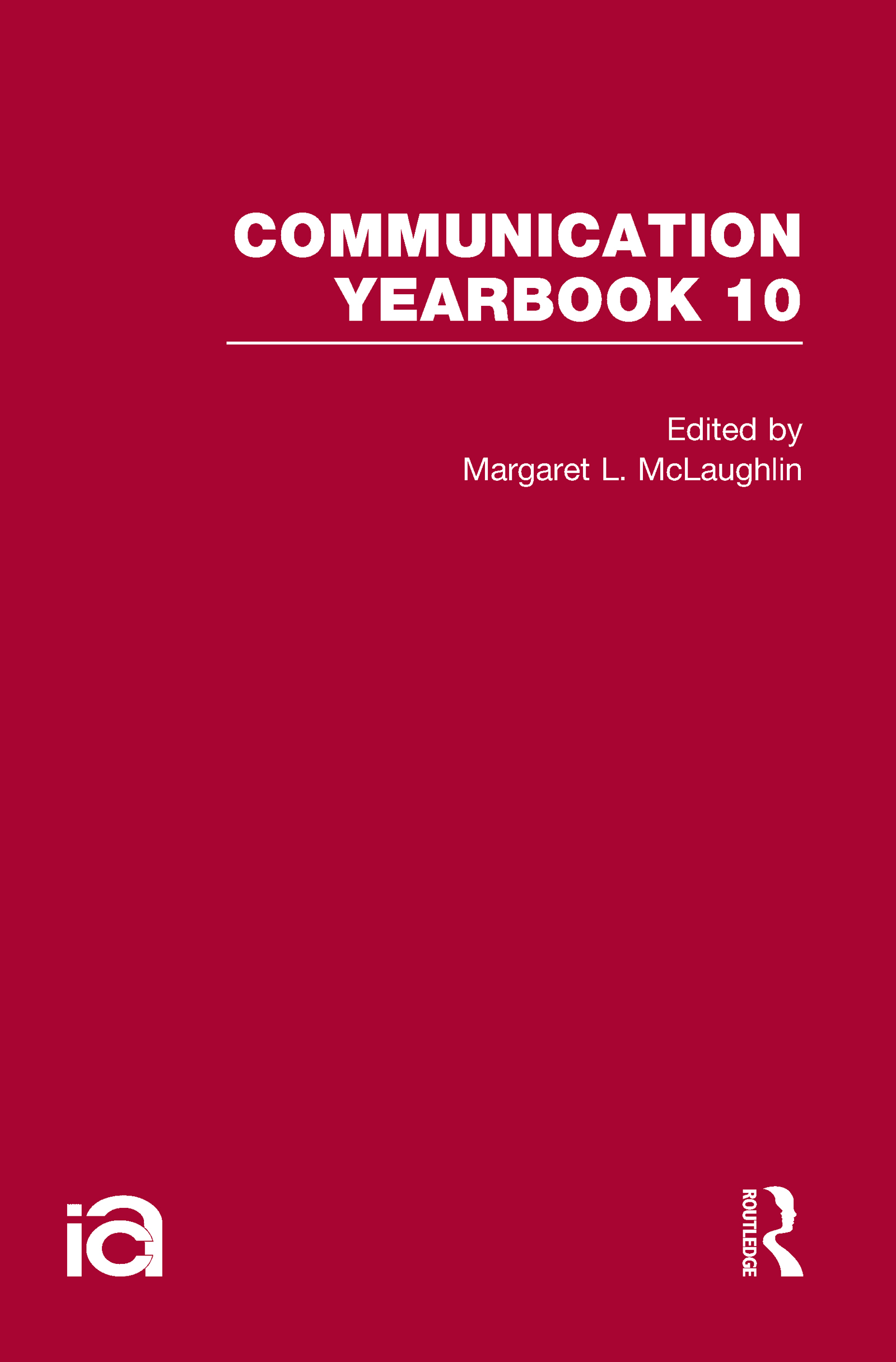 Communication Yearbook 10 (Hardback) book cover