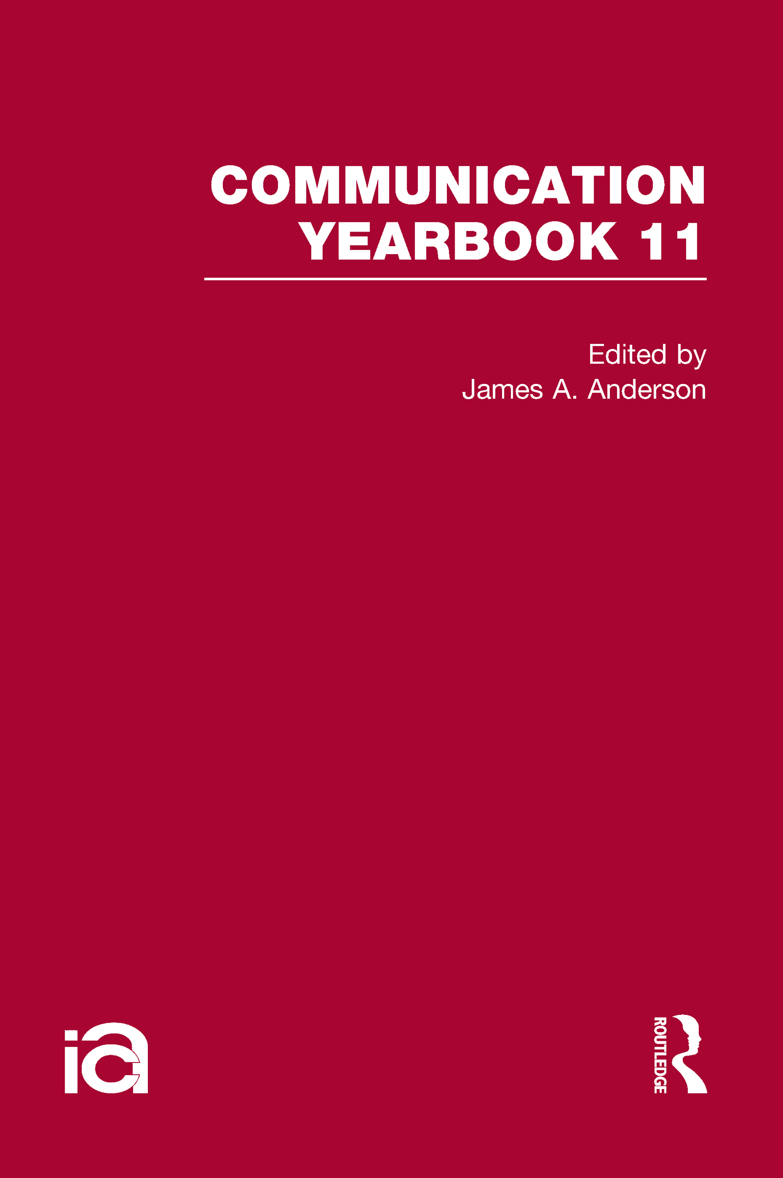 Communication Yearbook 11 (Hardback) book cover