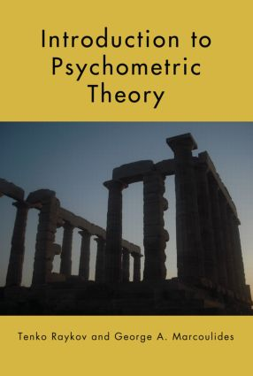 Introduction to Psychometric Theory (Hardback) book cover