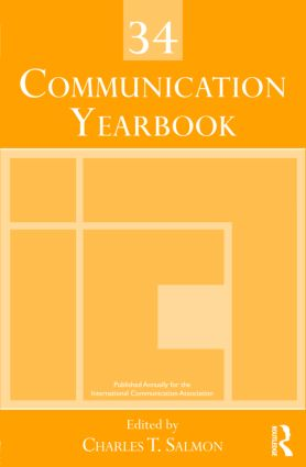 Communication Yearbook 34 (Hardback) book cover