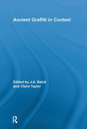 Ancient Graffiti in Context: 1st Edition (Hardback) book cover