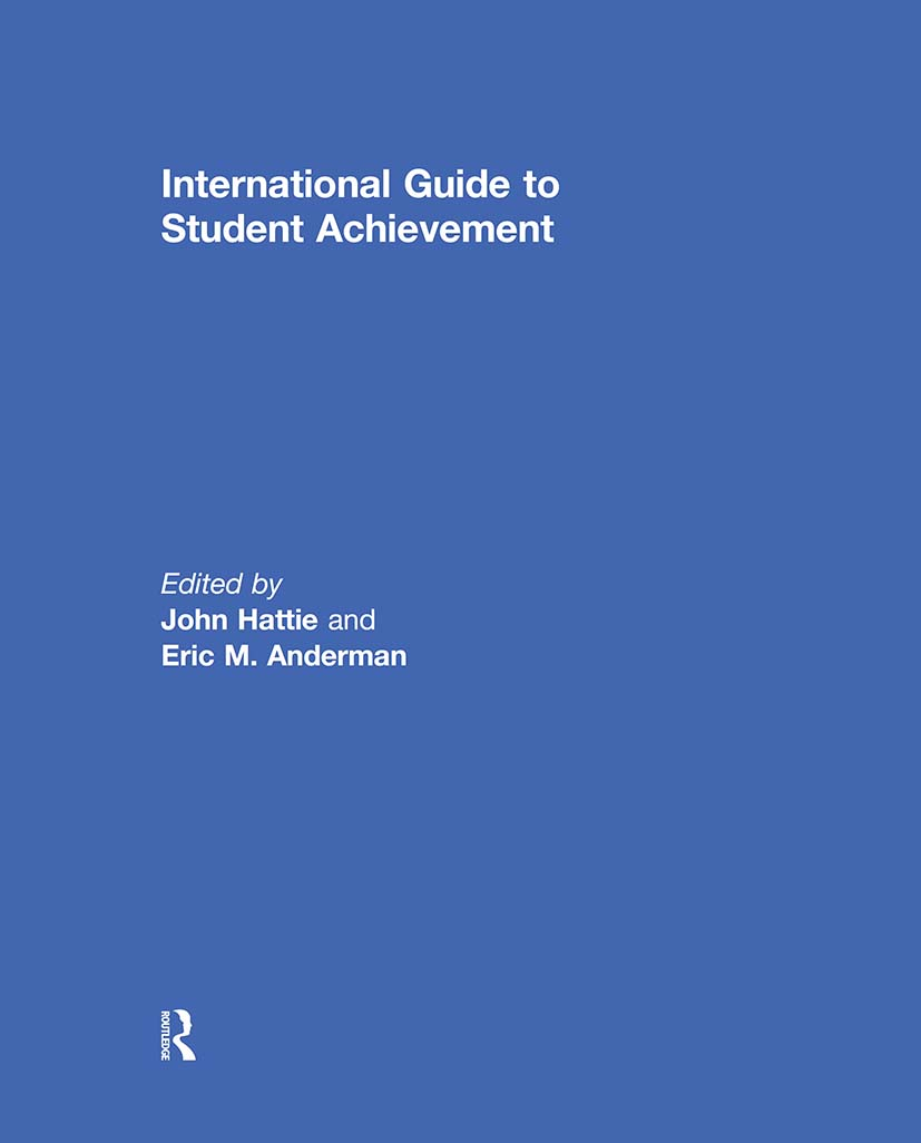 International Guide to Student Achievement: 1st Edition (Hardback) book cover