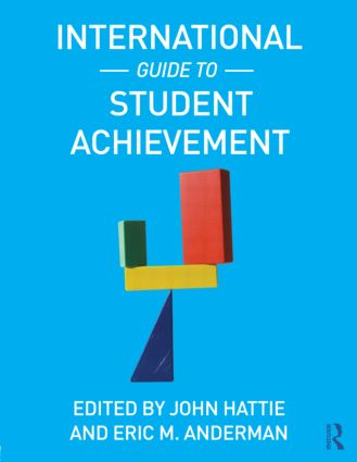 International Guide to Student Achievement: 1st Edition (e-Book) book cover