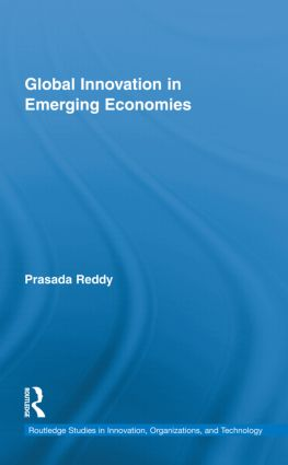 Global Innovation in Emerging Economies (Hardback) book cover