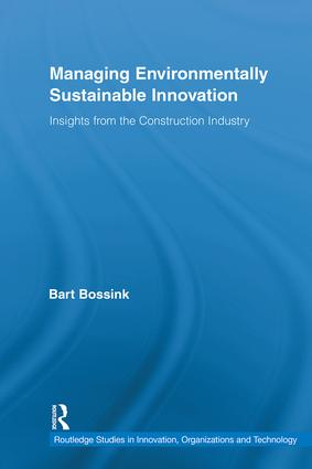 Managing Environmentally Sustainable Innovation: Insights from the Construction Industry (Hardback) book cover