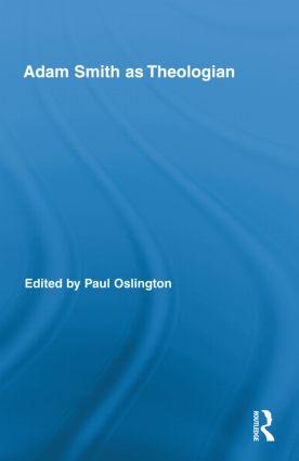 Adam Smith as Theologian (Hardback) book cover