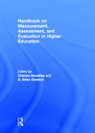 Handbook on Measurement, Assessment, and Evaluation in Higher Education (Hardback) book cover