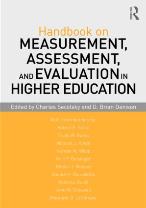 Handbook on Measurement, Assessment, and Evaluation in Higher Education (Paperback) book cover