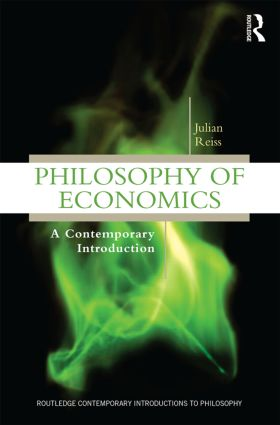 Philosophy of Economics: A Contemporary Introduction (Paperback) book cover