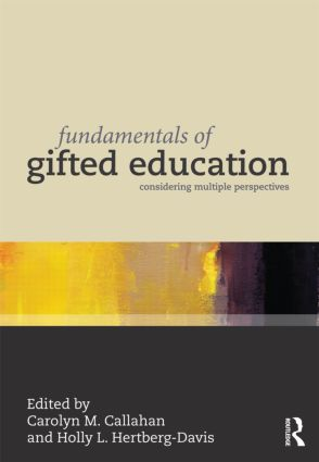 Fundamentals of Gifted Education: Considering Multiple Perspectives (Paperback) book cover