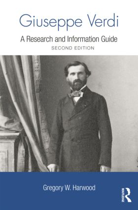 Giuseppe Verdi: A Research and Information Guide book cover