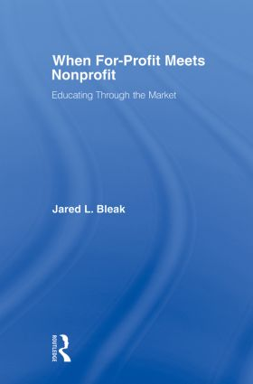 When For-Profit Meets Nonprofit