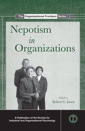Nepotism in Organizations (Hardback) book cover