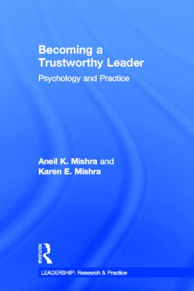 Becoming a Trustworthy Leader: Psychology and Practice book cover
