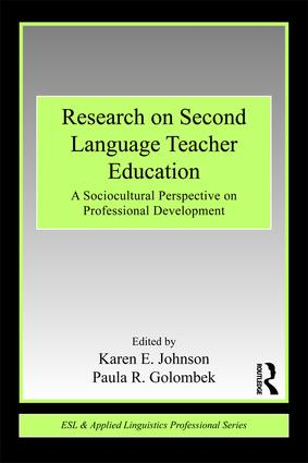 Research on Second Language Teacher Education: A Sociocultural Perspective on Professional Development book cover